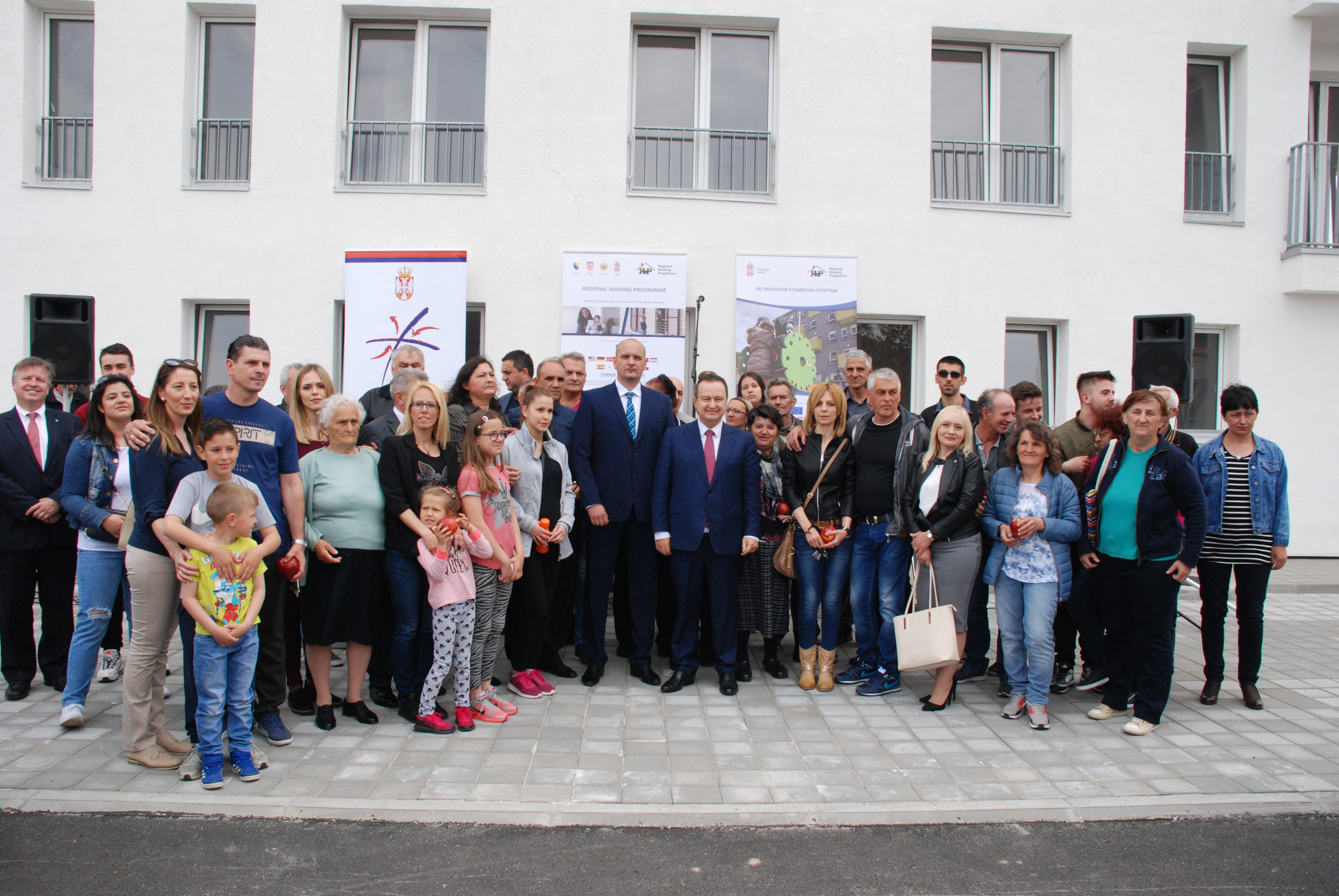 REFUGEE FAMILIES IN KLADOVO AND NEGOTINO RECEIVE KEYS TO THEIR NEW HOMES UNDER RHP