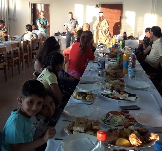 Migrants accommodated in the Centers marked Eid al-Adha
